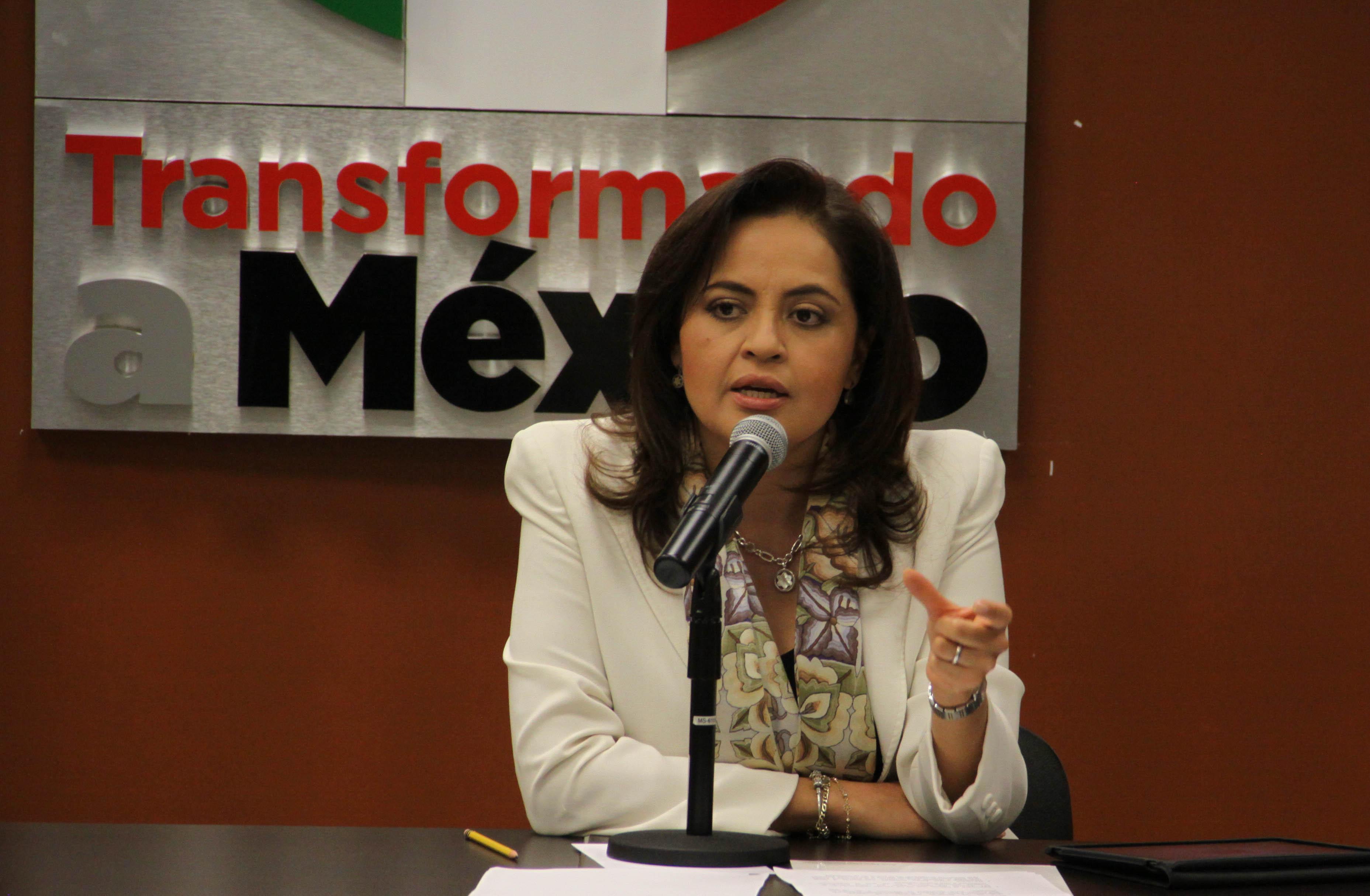 Presidirá Ana Lilia Herrera la Junta de Coordinación Política del Senado