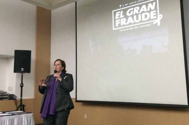 Acusa Ana Tere fraude para hacer ganar a Gali y salvar a CPP