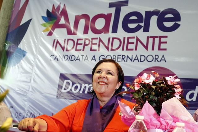 Llama Ana Tere Aranda a los jóvenes a votar sin miedo