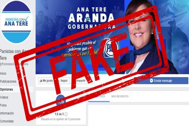 Arman campaña falsa de Ana Tere Gobernadora y ella se deslinda