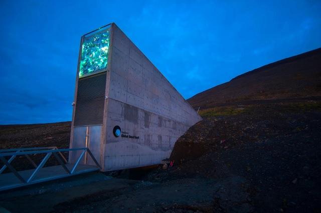 Como en Wall-e, añaden 60 mil semillas al bunker del Ártico
