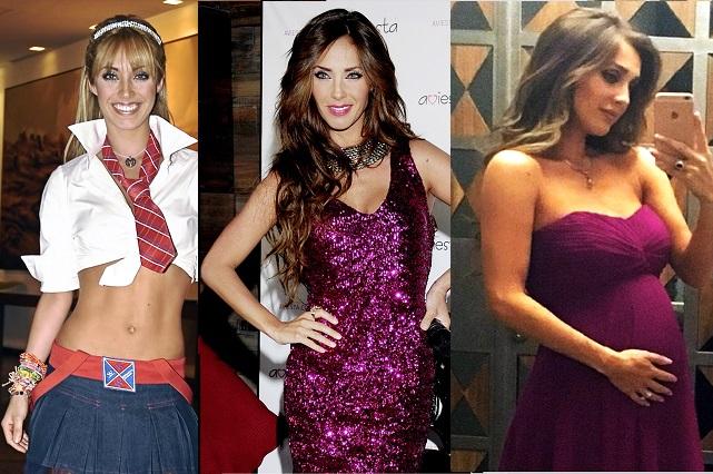 Doce imágenes que muestran la metamorfosis de Anahí y los ex RBD