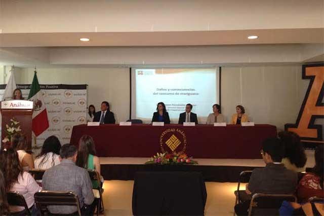 U. Anáhuac participará con CIJ en acciones contra la drogadicción