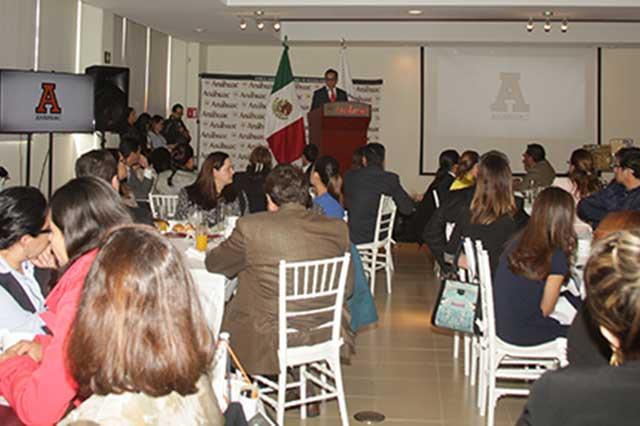 Presentan Modelo Formativo Anáhuac a directivos de escuelas preparatorias