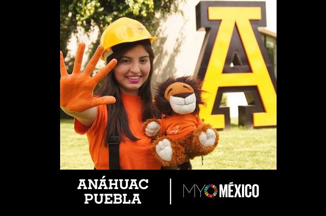 Anáhuac Puebla fue elegida miembro de My World México