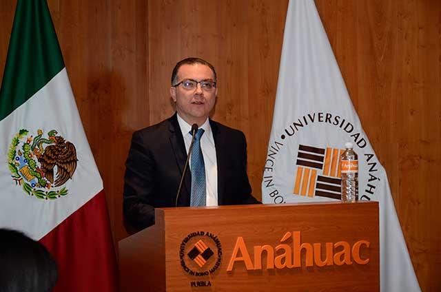 Inauguran en Universidad Anáhuac Seminario en Seguridad Ciudadana