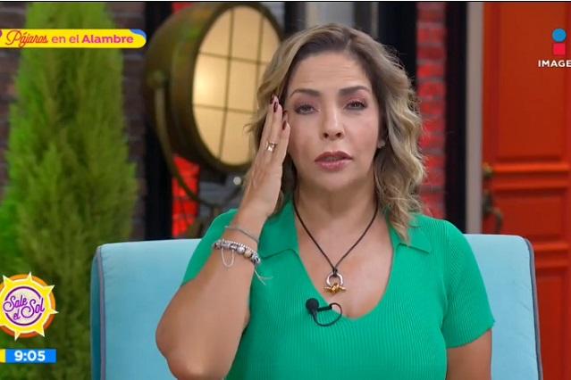 Ana María Alvarado llora tras confirmar tumor cerebral