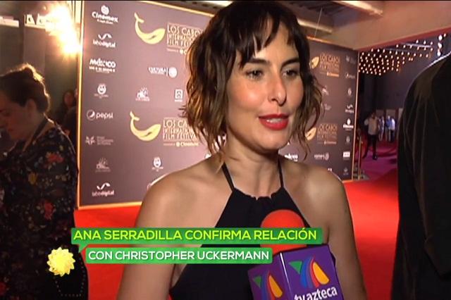 Christopher Uckermann olvida a Natalia Téllez y sale con Ana Serradilla