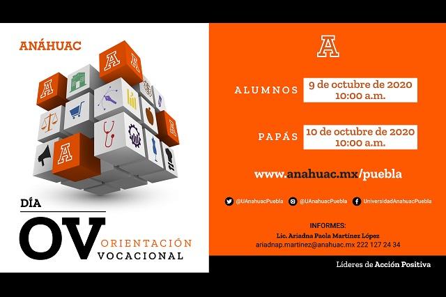 Presenta Universidad Anáhuac su oferta académica de manera virtual