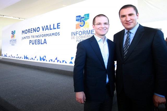 Confía Anaya en lograr acuerdo ganar-ganar con Moreno Valle
