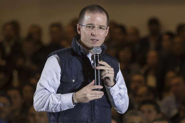Ricardo Anaya afirma que lo persiguen porque él sí combatirá la impunidad