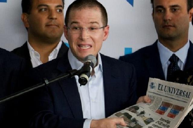 Tribunal da revés a Ricardo Anaya en el pleito que sostiene con El Universal