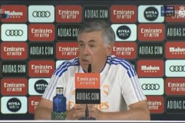 Ancelotti y la posible alineación para el debut en Liga Española