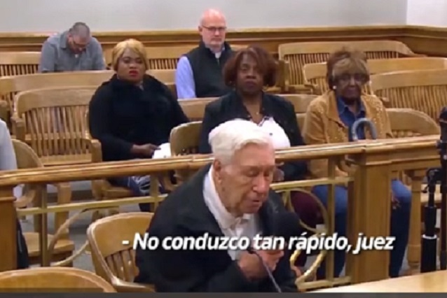 Video viral: Abuelo de 96 años conmueve a juez con su historia