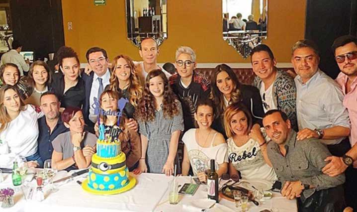 Andrea Legarreta celebra cumpleaños junto a Galilea Montijo