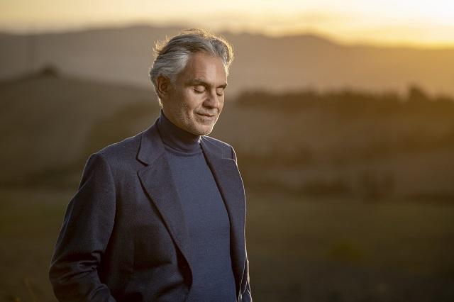 Andrea Bocelli se presentará en México en 2022