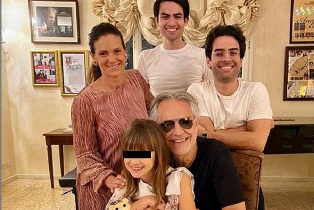 Andrea Bocelli revela que él y su familia se contagiaron de Covid-19