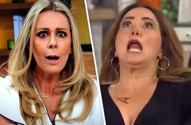 Andrea Legarreta y Raúl Araiza protagonizan pelea en TV