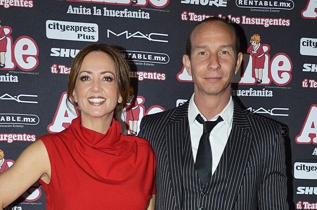 Andrea Legarreta ha pensado en separarse de Erik Rubín