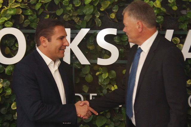 RMV se reúne con el presidente ejecutivo de VW