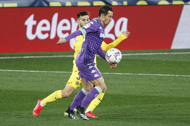 Andrés Guardado lidera victoria del Betis sobre Villarreal