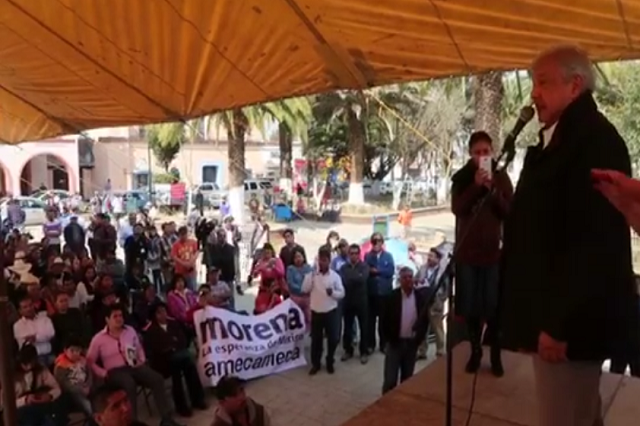 AMLO acusa a RMV de estrategia para desprestigiar a Morena