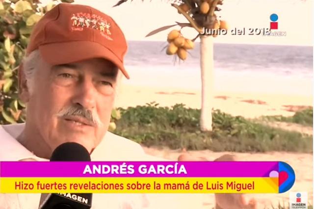 Luisito Rey ahogó a Marcela Basteria, supone Andrés García