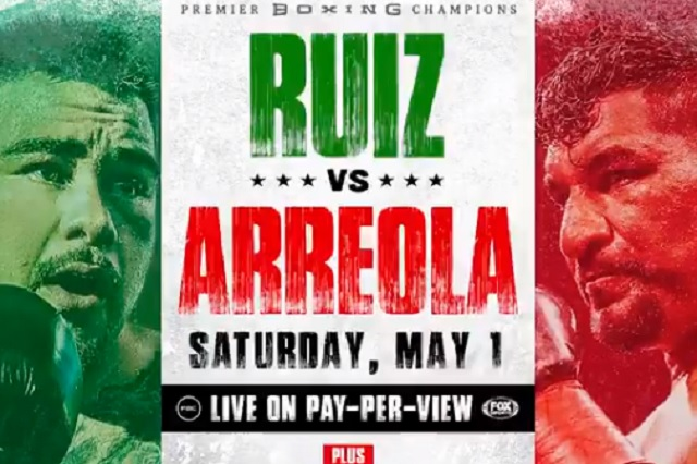 Oficializan fecha y sede para duelo entre Andy Ruiz y Chris Arriola