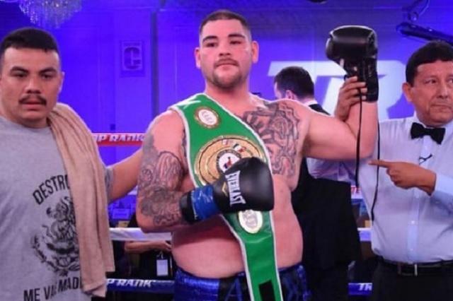 Andy Ruiz enfrentaría a Deontay Wilder a finales del 2021