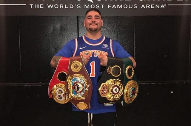 El mexicano Andy Ruiz es campeón de peso completo