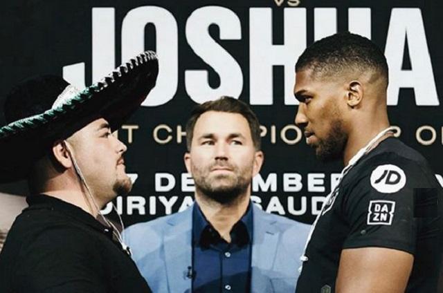 Andy Ruiz vs Anthony Joshua: Horarios y dónde ver la pelea