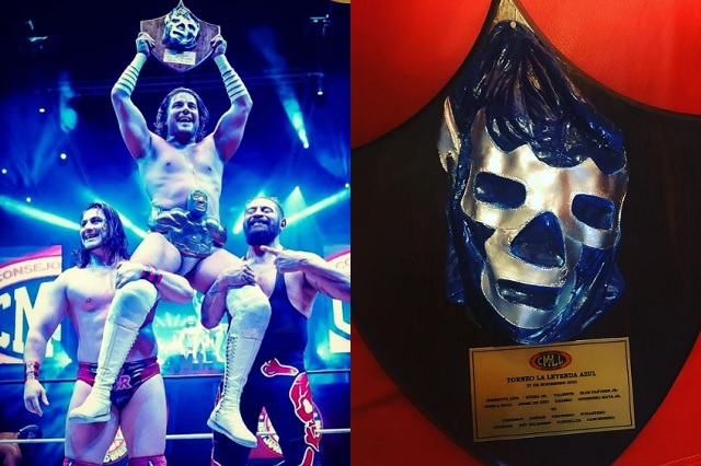 Ángel de Oro se proclama nuevo campeón del torneo la Leyenda Azul