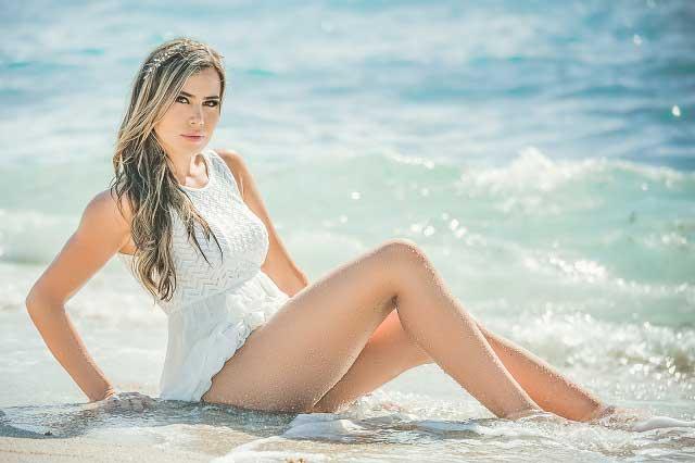 7 fotos de Angela Roa, una modelo hermosa y sexy que enamora