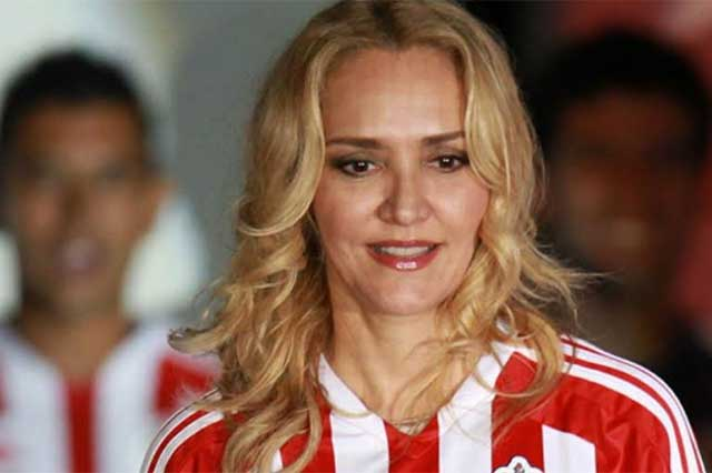 Juez ordena aprehender a Angélica Fuentes, esposa de Jorge Vergara