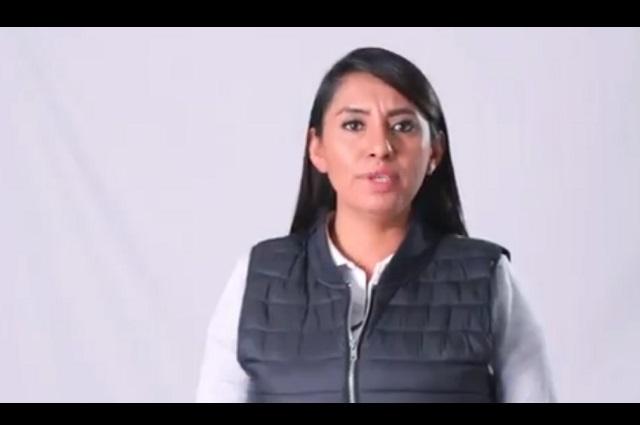 Angélica Alvarado lamenta los asesinatos en Huejotzingo