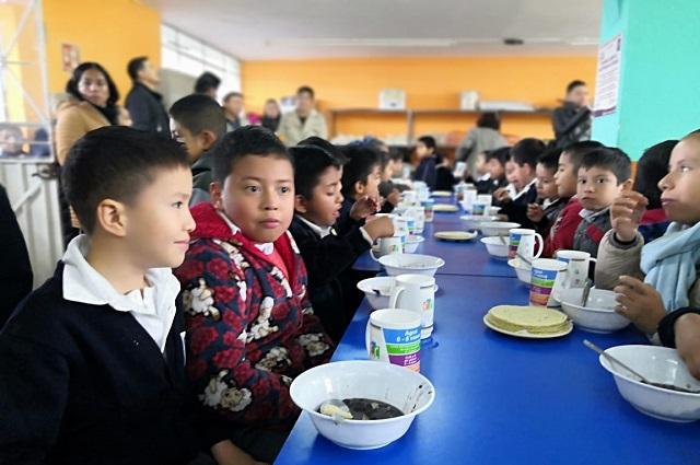 Abren desayunador escolar en el barrio de Xoloateno en Teziutlán