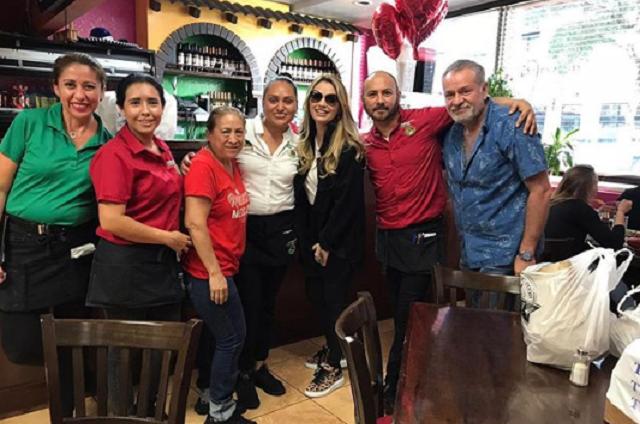 Angélica Rivera y el Güero Castro causan controversia en redes por foto juntos