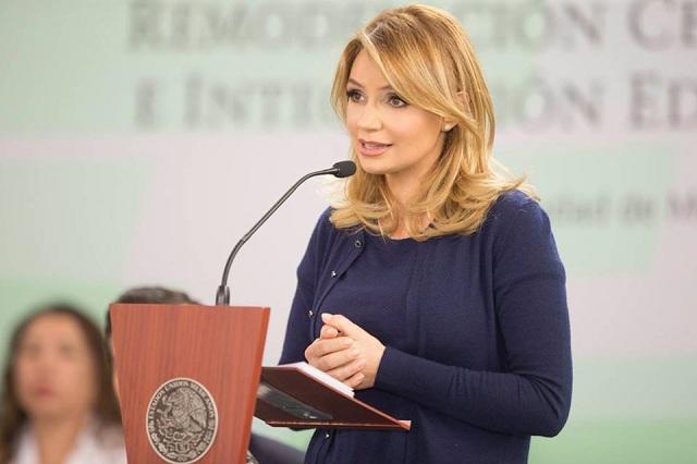 Angélica Rivera regresó a los foros de Televisa