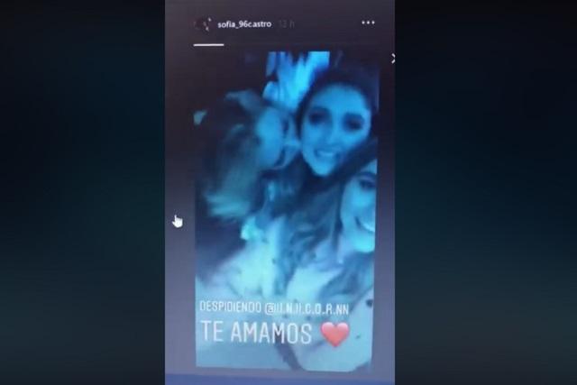 Hija de Angélica Rivera se va a EU y ella la despide bailando