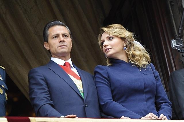 No todo lo que se dice en tv es cierto: Angélica Rivera