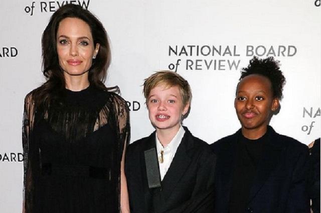 Angelina y Brad cambian el nombre de su hija Shiloh por John