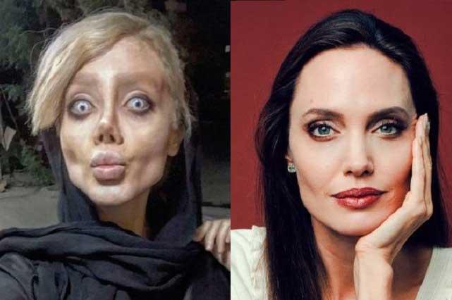 La Angelina Jolie iraní habla de sus fotos en Instagran y revela verdad