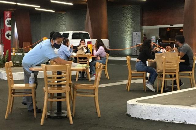 Segob: Angelópolis no debe usar estacionamiento como restaurante