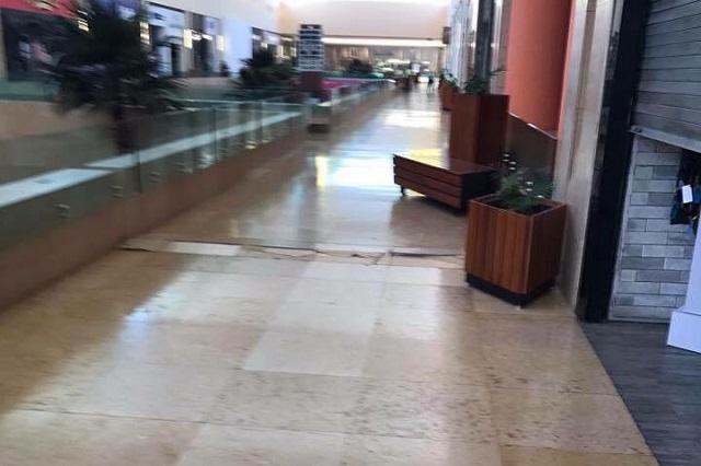 Al igual que en 1999, sismo daña piso y rompe cristales en Angelópolis