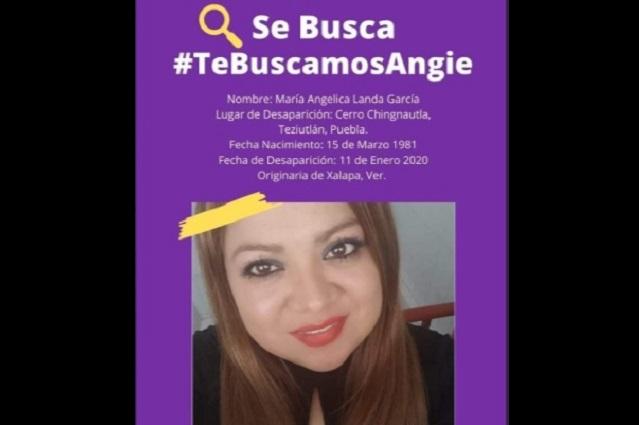 Autoridades de Chignautla ignoran búsqueda de Angie Landa
