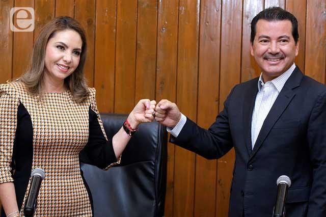 Paola Angón sí recicló a funcionarios de Alberto Arriaga
