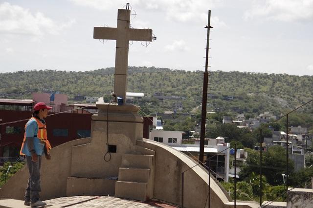 Iglesia católica reconstruyó templos y viviendas dañadas por 19- S