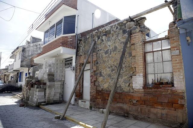 No fueron censadas 3 mil 477 viviendas dañadas por el sismo