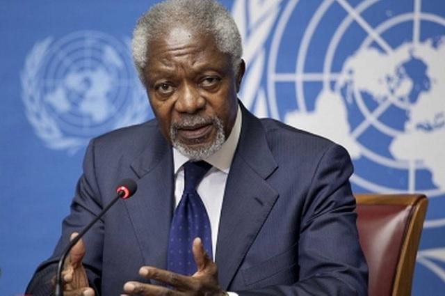 Fallece a los 80 años Kofi Annan, ex secretario general de la ONU