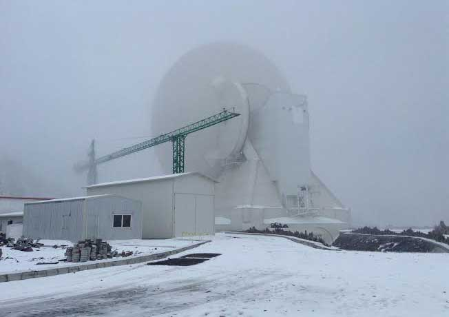 Proyectan ampliar antena del GTM a 50 metros en 16 meses